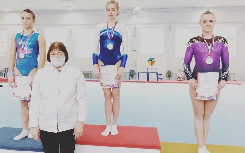 Любовь Пушкина стала третьей в личных соревнованиях на Чемпионате ЮФО и СКФО по спортивной гимнастике